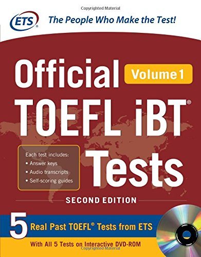 Official TOEFL iBT? Tests Volume 1, 2nd Edition (Official Toefl iBT Tests)