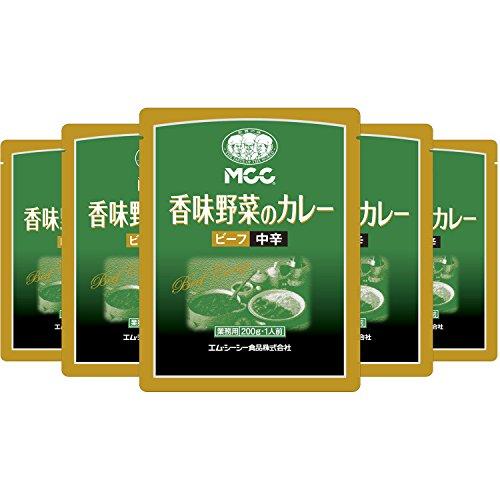 MCC 業務用 香味野菜のカレー 中辛 200g