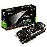 Gigabyte Aorus GeForce GTX 10808G 11Gbpsグラフィックカード–gv-n1080aorus-8gd