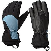 Patech スキー スノーボード グローブ 手袋 防水 防寒 防風 滑り止め バイク 登山 雪かき アウトドア 男性用 5本指タイプ (Large)
