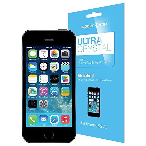 国内正規品SPIGEN SGP iPhone5/5S シュタインハイル ウルトラ・クリスタル [液晶保護シール] SGP08196
