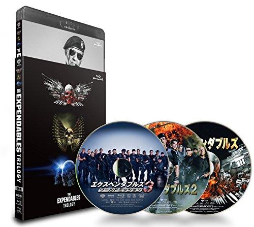 エクスペンダブルズ トリロジーブルーレイセット(3,333セット数量限定生産)(完全数量限定) [Blu-ray]
