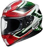 ショウエイ(SHOEI) バイクヘルメット フルフェイス Z-7 VALKYRIE (ヴァルキリー) TC-4 RED/GREEN L (59cm) -