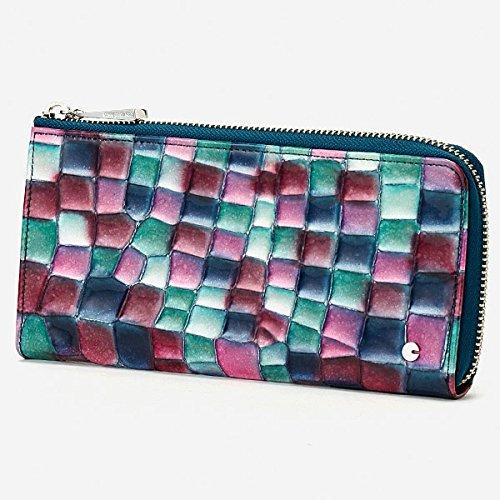 コムサデモード・サック(COMME CA DU MODE SACS) 財布(Lファスナー束入)【ブルー×ブルー/**】