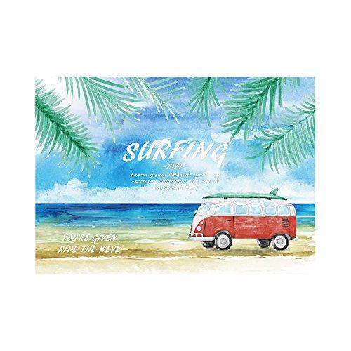 RoomClip商品情報 - アートフレーム ファブリックパネル Summer Surfing 60cm×40cm Z3K