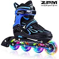 2pm Sports ジュニア インラインスケート 子供用 Inline skate 初心者向け 本格的な仕様 サイズ調整可能 3サイズ選べる 男女共用