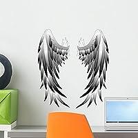 "Wallmonkeys Angel Wings Angel Wings壁デカールPeel and Stickグラフィックwm137087 18""H x 14""W - Small FOT-18137714-18"