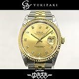 ロレックス ROLEX デイトジャスト 16233G シャンパン文字盤 メンズ 腕時計 【中古】