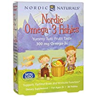 Nordic Naturals - 北欧人Omega-3 Fishies - 36カウント