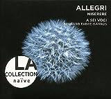グレゴリオ・アッレーグリ : ミサ曲集 (Allegri : Miserere / A Sei Voci) [輸入盤]