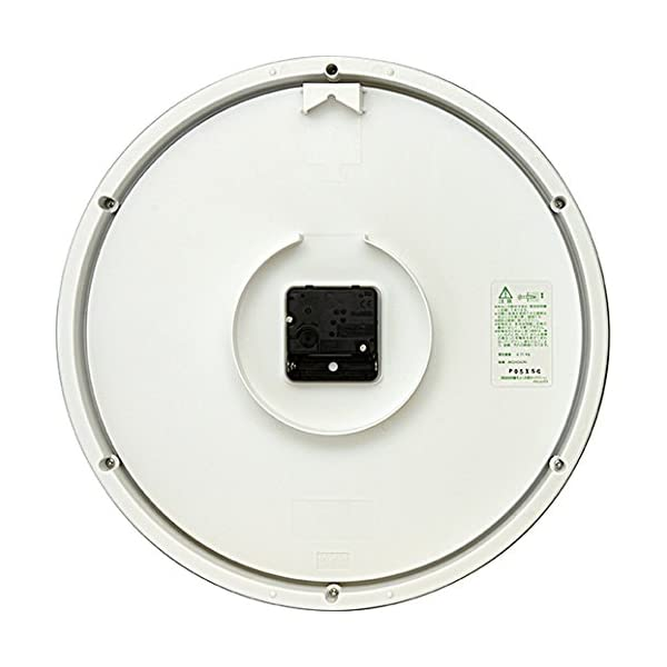 DAILY(リズム時計) クォーツ時計 フラッ...の紹介画像2