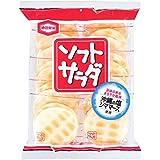 ★【タイムセール】亀田製菓 ソフトサラダ 20枚×12袋が1,855円!