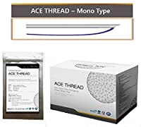 【並行輸入】 ACE PDO Thread lift Korea (リフティング糸 / メソン / 漢方病院針 / 鍼 ) / Ultra V-Lift / Face Lift - Mono Type 100pcs (Mono 30G25)