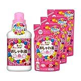 【まとめ買い】 ボールド 洗濯洗剤 液体 香りのおしゃれ着洗剤 本体 500g + 詰替用400g×3個