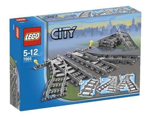レゴ (LEGO) シティ ポイントレール 7895 -