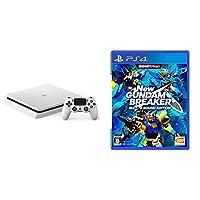 PlayStation 4 グレイシャー・ホワイト 1TB (CUH-2100BB02)+New ガンダムブレイカー ビルドGサウンドエディション セ...