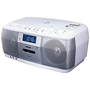 東芝 CD対応ラジカセ(ホワイト)TOSHIBA TY-CDK8(W)