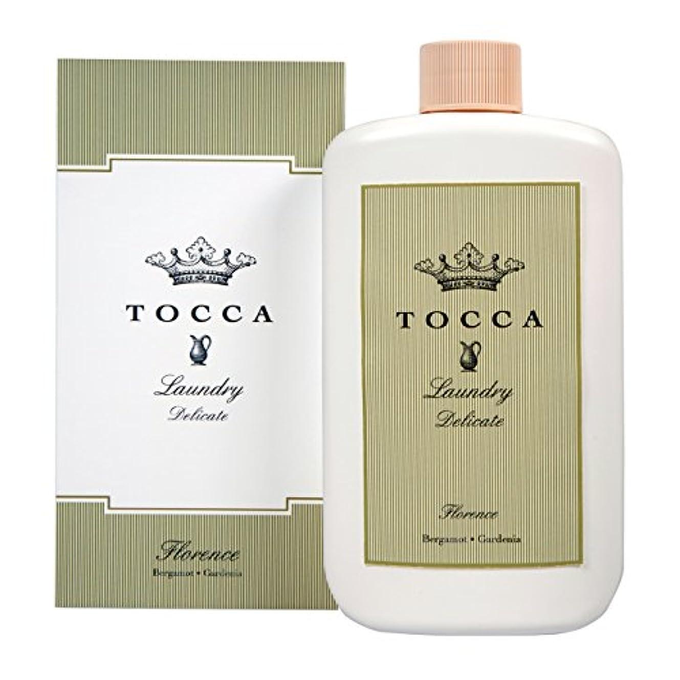中絶陸軍大佐トッカ(TOCCA) ランドリーデリケート フローレンスの香り 235ml (デリケート素材用洗剤 洗濯用合成洗剤 ガーデニアとベルガモットが誘うように溶け合うどこまでも上品なフローラルの香り)