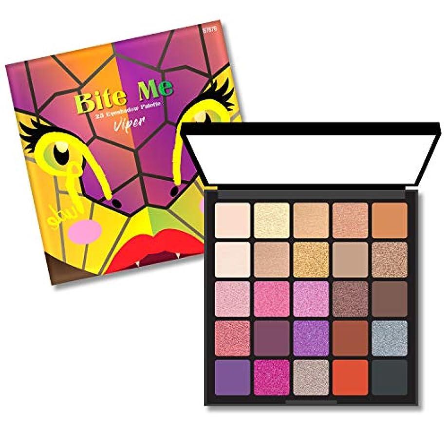 (6 Pack) RUDE Bite Me 25 Eyeshadow Palette - Viper (並行輸入品)