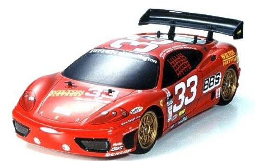 1/8 1/10 エンジンRCカーシリーズ 1/10 フェラーリ 360GT デイトナ仕様