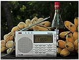 シンプルFMラジオ・エアバンド/短波/MW/LW/FMラジオ 高感度オールバンドレシーバーpl660 (シルバー)