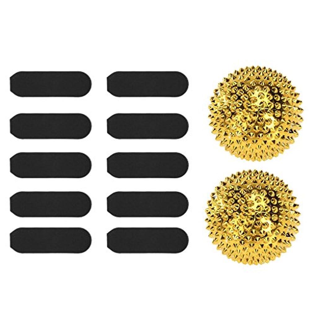 スロット属する氏SONONIA マッサージ用 刺激 ボール 疲労軽減 +  10枚 サンドペーパー デッド スキン カルス リムーバー ツール