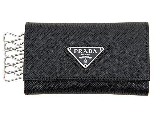 [プラダ]PRADA キーケース 1PG222 QHH F0632 SAFFIANO サフィアーノ ブラック [並行輸入品]