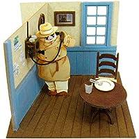 さんけい スタジオジブリmini 紅の豚 電話するポルコ ノンスケール ペーパークラフト MP07-24