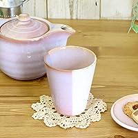 【ギフト包装OK】Shikisaiカップ ピンクパープル【萩焼/Shikisai/陶器/陶製/食器/日本製/国産/淡い/ト/ギフト/贈り物/カップ】