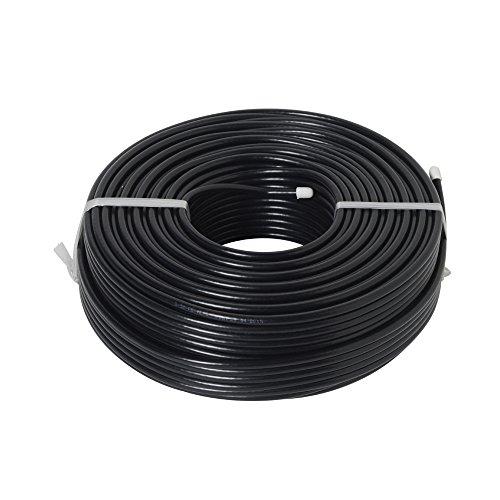 二幸電気工業 5C-FBケーブル 100M 黒  S5CFBAL