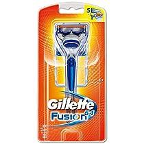 ジレット フュージョン5+1 髭剃り 本体 替刃2個付