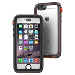 【日本正規代理店品】 catalyst 5m完全防水・防塵・耐衝撃ケース for iPhone6 ブラック/オレンジ