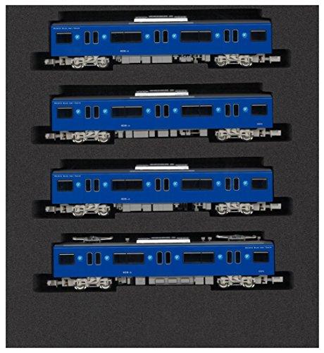 Nゲージ 4254 京急600形更新車KEIKYU BLUE SKY TRAIN増結用中間車4両セット (動力無し)