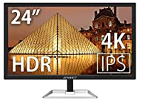 JAPANNEXT JN-IPS244UHDR 4K 24インチ液晶ディスプレイ UHD HDCP2.2 HDMI2.0 FreeSync PCモニター