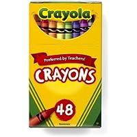 Crayola クレオラ クレヨン 豊富なカラー48色 [並行輸入品]