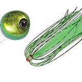 JACKALL(ジャッカル) タイラバ ビンビン玉 スライド 80g グリーンゴールド/蛍光グリーン