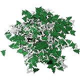 Baoblaze 約30g 紙吹雪 クリスマス Xmas DIY 雰囲気作り 多仕様選べ - グリーン+シルバー