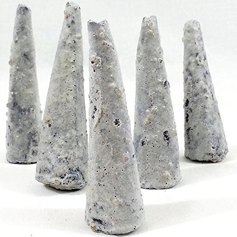 正確に持続する純度Copal Incense Conesバッグ75の5 Cones = 375コーン、手作りのメキシコ。
