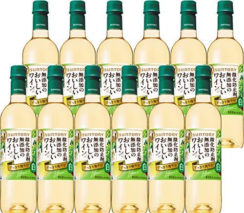 酸化防止剤無添加の白ワイン 720X12