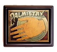 Fortune Telling Palmistry Palm ReaderビジネスカードIDウォレットシガレットケース