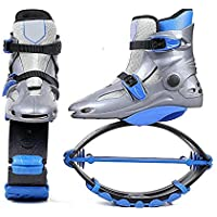 Teens/Youngster Jumps Rebound Shoes Boy Fitness Shoes Gravity Boots Kids Bounce Boot Weight Load Range 20-110KG,36/38