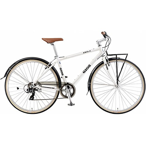 GIOS(ジオス) クロスバイク ESORA WHITE 450mm