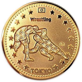 東京スポーツGOLDコイン レスリング | 記念メダル 東京2020