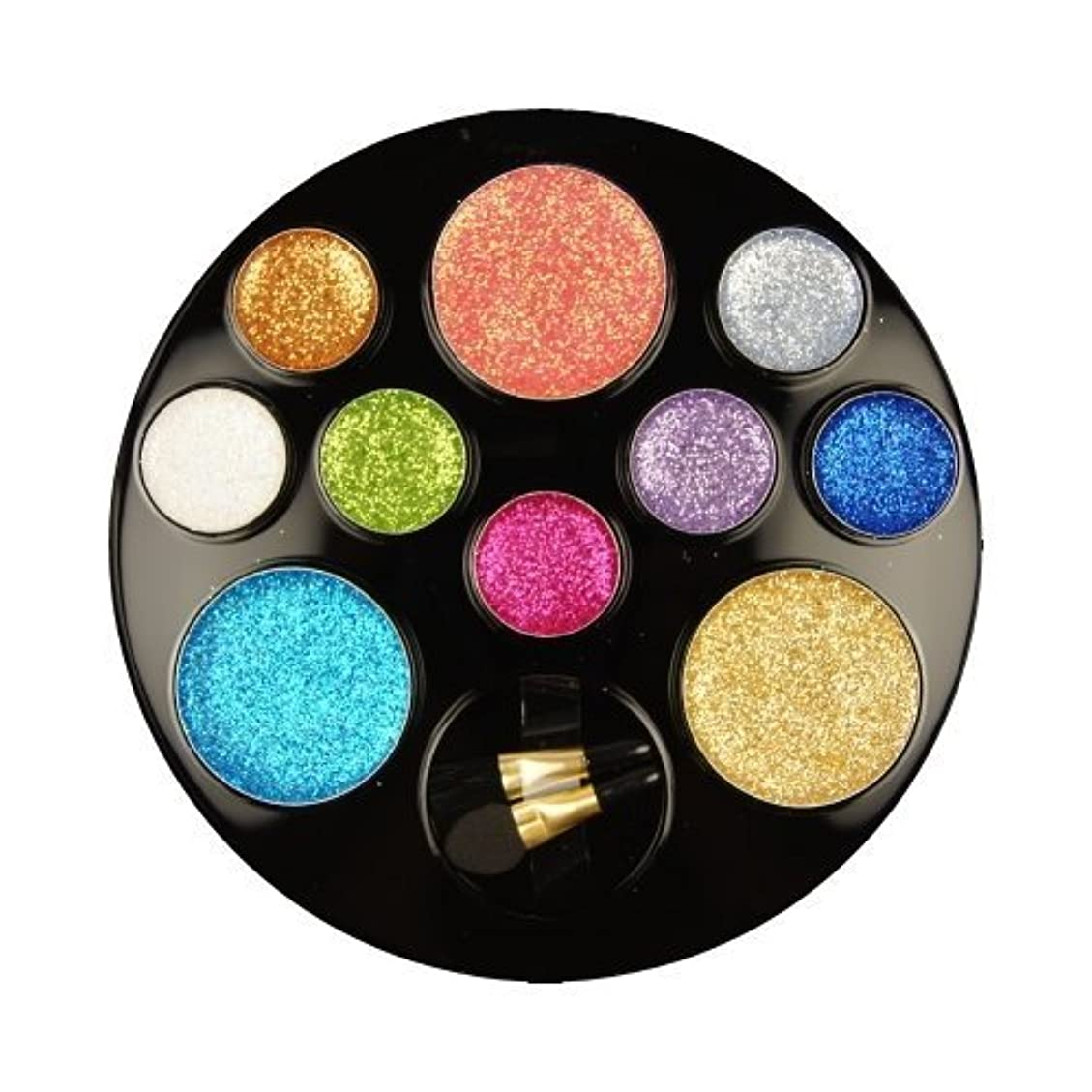 写真の認めるカブBEAUTY TREATS 10 Color Perfect Glitter Palette Something Special (並行輸入品)