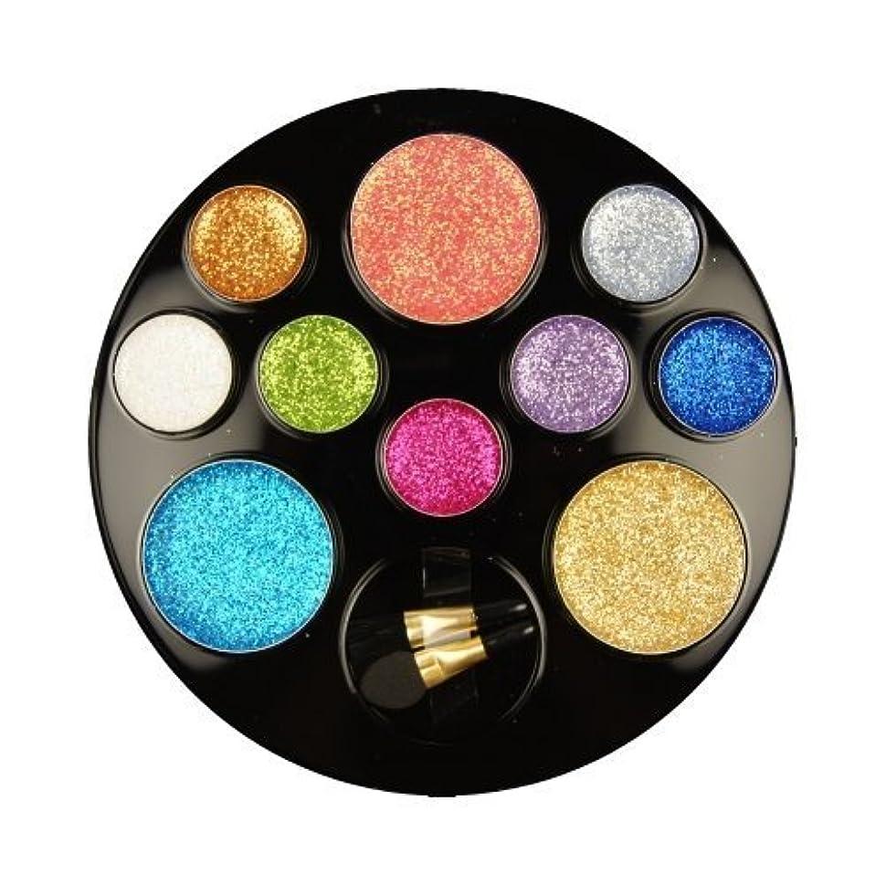 ワイドタイプパスポートBEAUTY TREATS 10 Color Perfect Glitter Palette Something Special (並行輸入品)