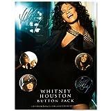 WHITNEY HOUSTON ホイットニー・ヒューストン - Whitney Houston Pack/バッジ 【公式/オフィシャル】