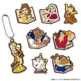 美女と野獣 ラバーマスコットコレクション BOX商品 1BOX = 8個入り、全8種類