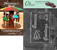 Cybrtrayd 'Seasons Greetingsクリスマスチョコレートキャンディ型 チョコレートガイド