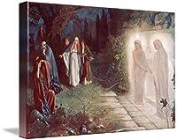 """壁アート印刷entitled Herbert Gustave schmalz-carmichael–Resurrection by天体イメージ 16"""" x 11"""" 5946168_2_can"""