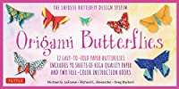 Origami Butterflies Kit: The LaFosse Butterfly Design System - Kit Includes 2 Books, 12 Projects, 98 Origami Papers and Instructional DVD: Great for Both Kids and Adults